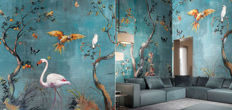 Creative accessories and wall papers