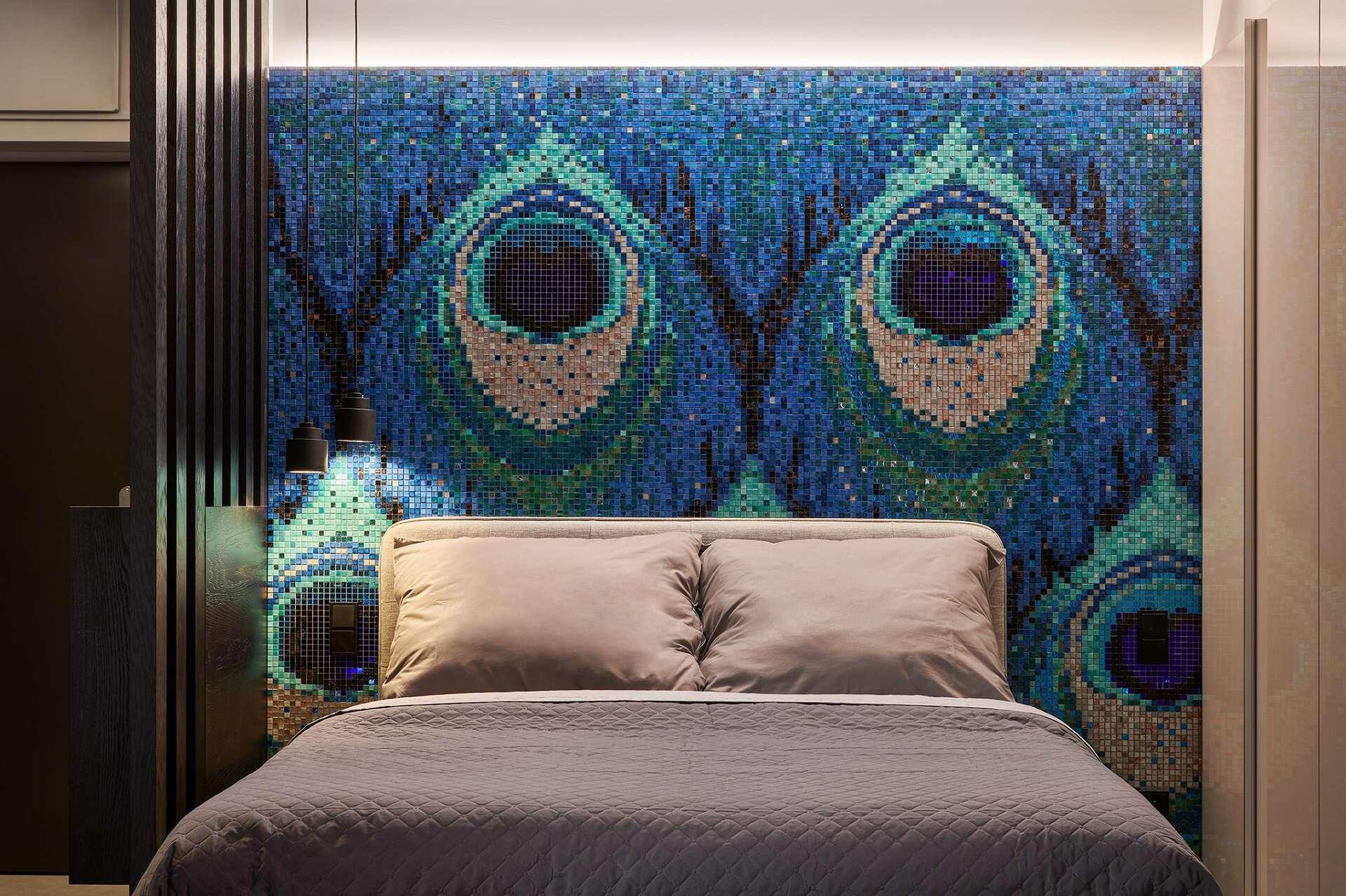 Mozaika okoření interiér
